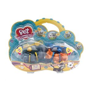 FIGURINE - PERSONNAGE Pet Parade - Assortiment Blister 2 Pets Chats