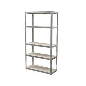 MEUBLE ÉTAGÈRE Ironside 140022 étagère en bois et métal 180 x 100