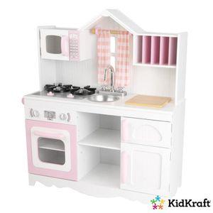 DINETTE - CUISINE Cuisine enfant Campagnarde Moderne en bois