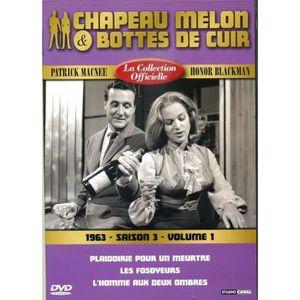 DVD SÉRIE Chapeau melon et bottes de cuir -S3 V1 -1963 -1 DV