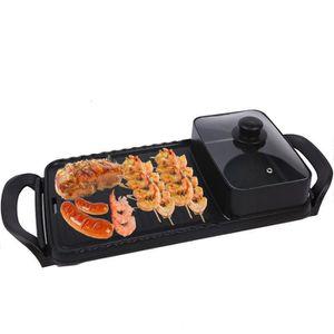 BARBECUE TEMPSA 2 en 1 Barbecue et Hot Pot électrique Planc