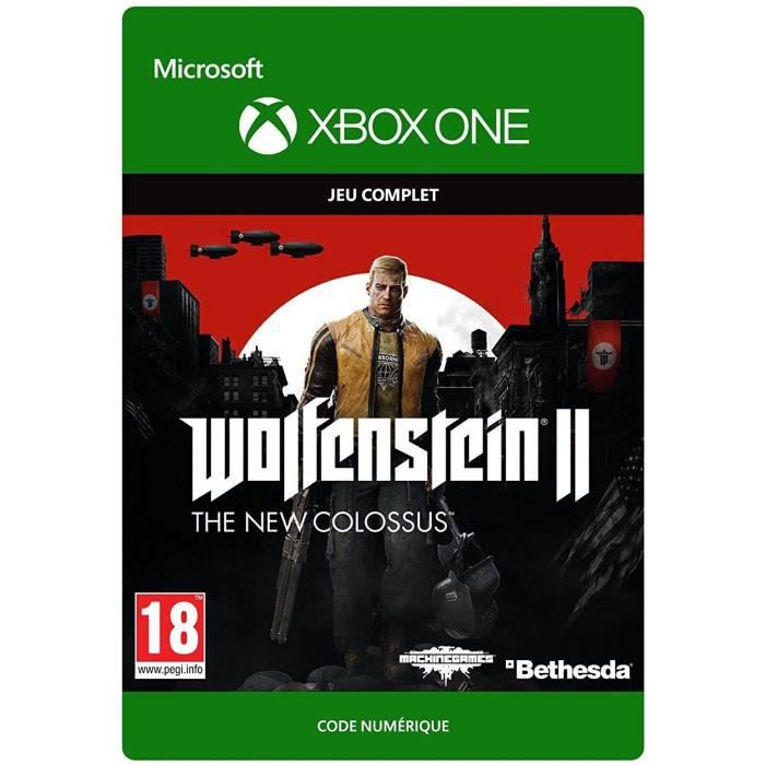 Wolfenstein II The New Colossus Jeu Xbox One à télécharger