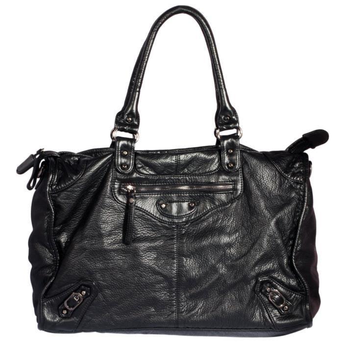 H & j dames Mode pour Pu de haute qualité en cuir grande Sacs à bandoulière unique T2KE1
