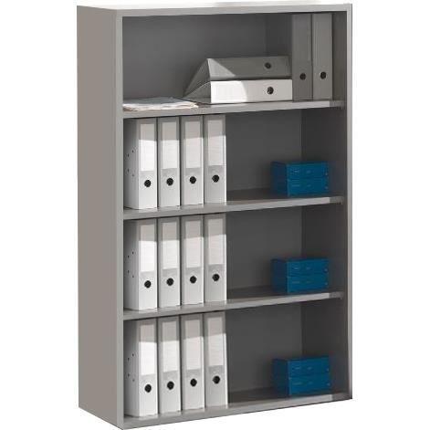 Meuble tagre pour bureau coloris gris Achat Vente meuble