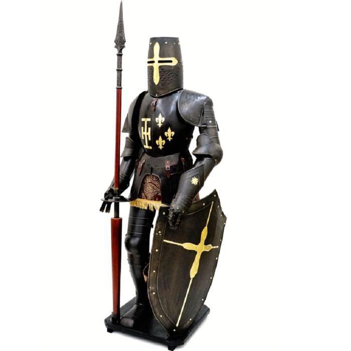 BUSTE - MANNEQUIN Armure médiévale de chevalier de joute Henri II 20