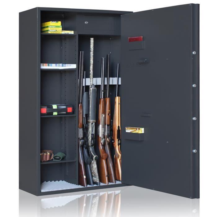 Armoire forte reload mixte 7 armes tag res 1 gris achat vente armoire fusil armoire for Coffre fort pour armes doccasion