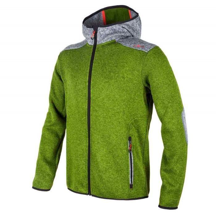 Polaires Fix Knit Prix Vêtements Vestes Pas Homme Cmp Hood Tech LqzVUSMpG