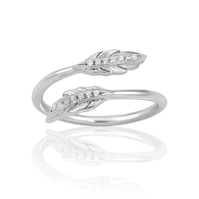 Bague TIPY Argent 925/1000 Oxyde