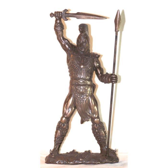 statuette grecque antique achille achat vente statue. Black Bedroom Furniture Sets. Home Design Ideas
