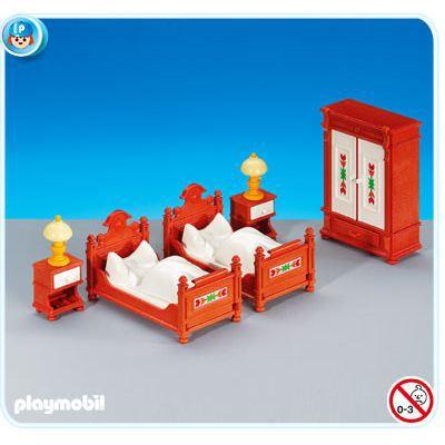 playmobil 6222 meubles anciens pour chambre