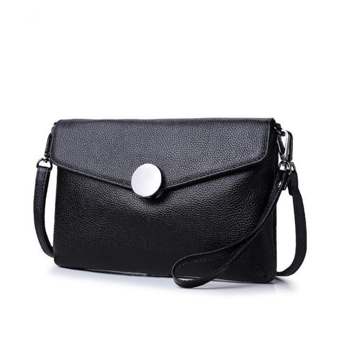 Sacs en cuir petites épaule véritable embrayage Portefeuille pour femmes SC4TR