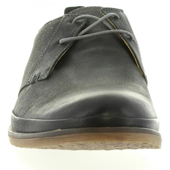 Chaussures pour Homme KICKERS 412082-60 FLAVIS 122 GRIS FONCE
