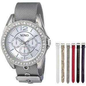 MONTRE Xo9053 Rhinsetone accents montre avec bracelet int