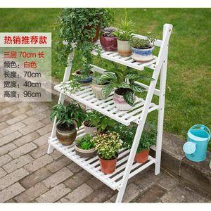 PORTE-PLANTE Support de support pour pots de plantes pliable mu