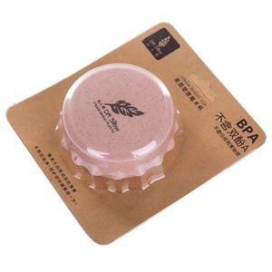 PAILLE Tasse pliante pliante télescopique potable en plas