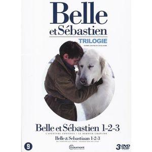 DVD FILM Belle et Sebastien - Coffret Trilogie (DVD)