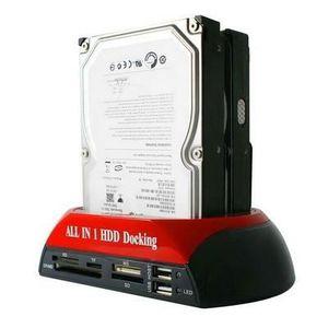 STATION D'ACCUEIL  Station d'accueil pour disque dur HDD SATA / IDE 2