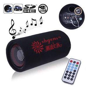 AUTORADIO Lecteur subwoofer MP3 stéréo pour auto-moto SD-USB