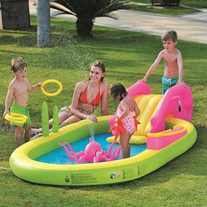 PATAUGEOIRE Piscine gonflable pour enfants Sea Animal Play Poo