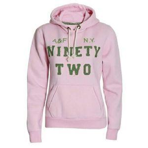 SWEATSHIRT Abercrombie & Fitch Sweatshirt Femme Rose
