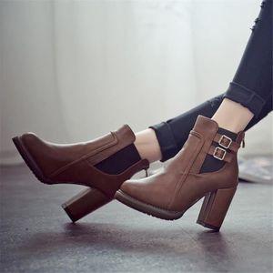 BOTTINE Femme bottes à talons Nouvelle Arrivee Les Chaussu