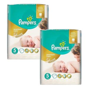 COUCHE Maxi Giga Pack 104 Couches Pampers Premium Care -