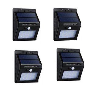 LAMPE DE JARDIN   4 Pcs 20 LED Lampe Solaire Extérieure-Eclairage s