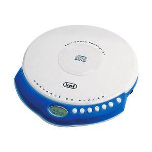BALADEUR CD - CASSETTE TREVI CMP 498 Lecteur CD - Ecran LCD - Blanc