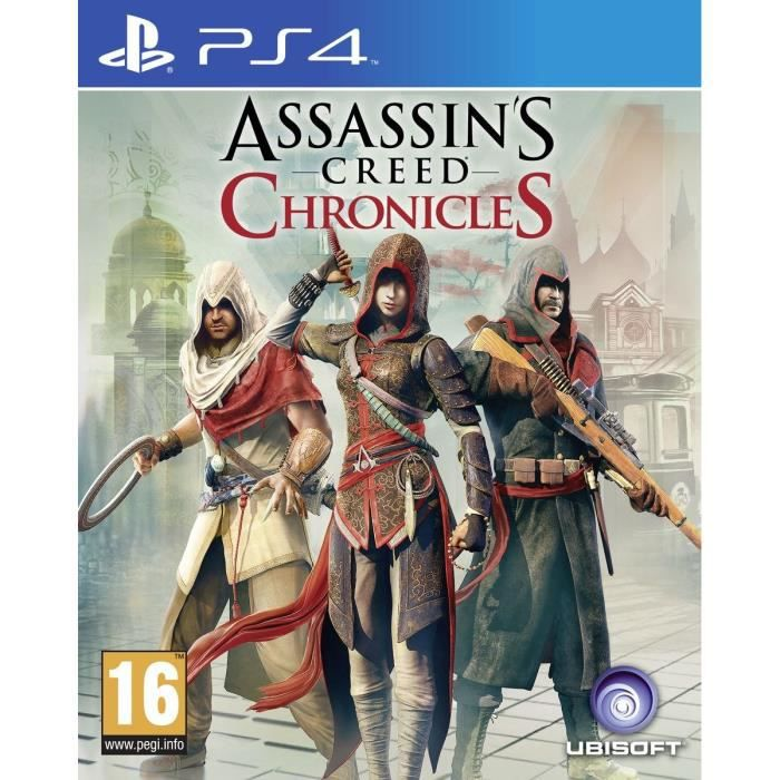 Assassin's Creed Chronicles Trilogie Jeu PS4