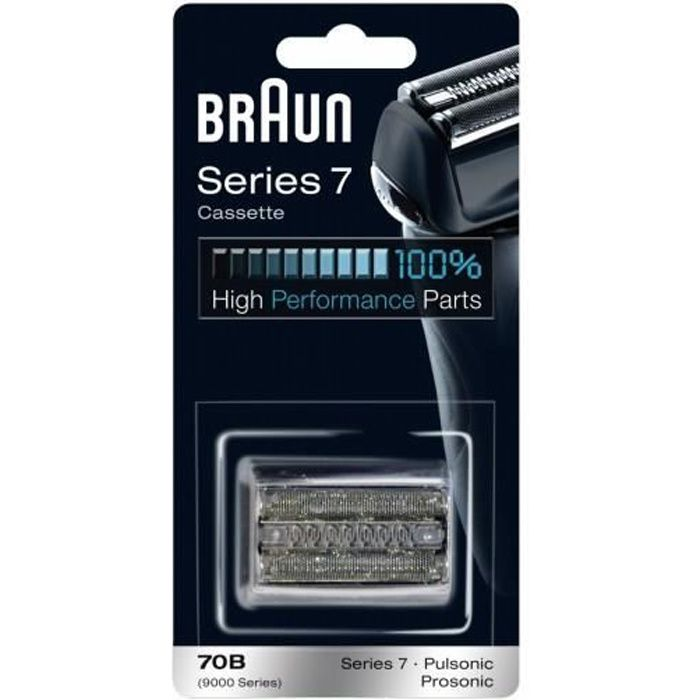 Braun Kombipack 70B - R&eacute f&eacute rence fabricant : 092223Type- Type : Foil & Cutter...Voir la présentationTONDEUSE MULTI-USAGES
