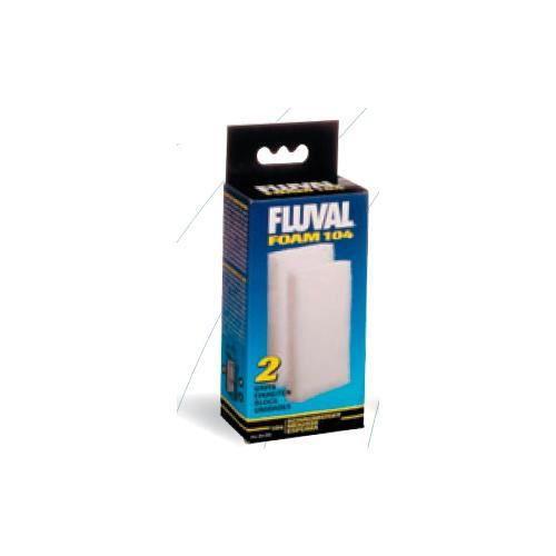 FLUVAL 2 blocs de mousses 206 306 - Pour aquarium