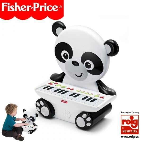 FISHER PRICE Piano électronique Panda