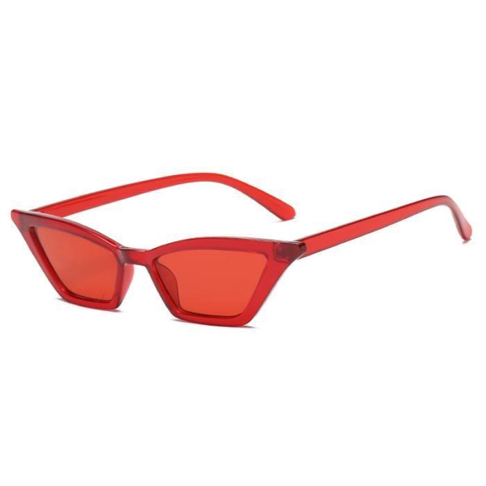 Retro petite boîte lunettes de soleil haute marée de la rue des lunettes de soleil