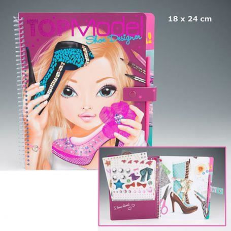 Album de coloriage top model shoe designer achat - Album de coloriage top model ...