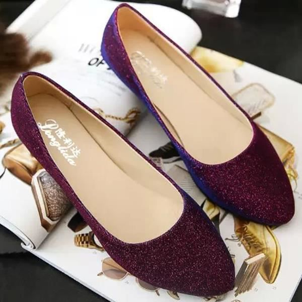 Chaussures confortables casual slip mode douce ...