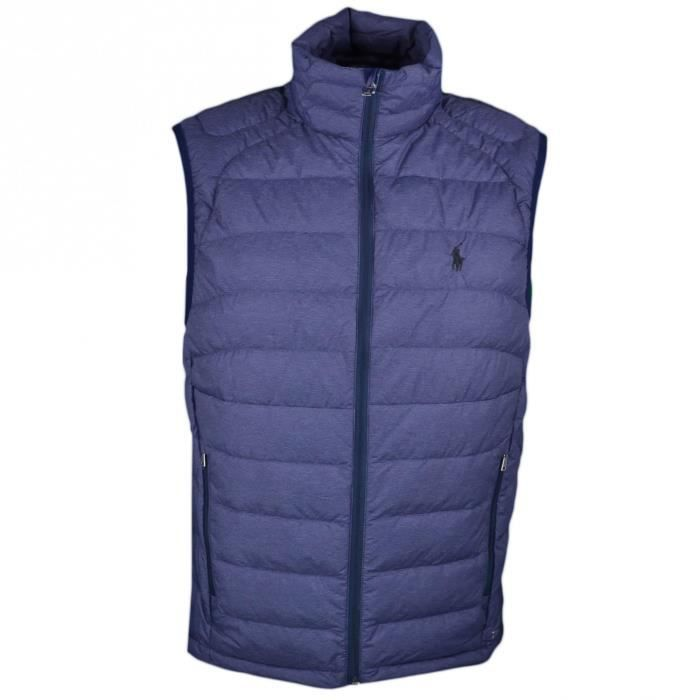 9540b816f3dd6 Doudoune sans manches Ralph Lauren bleu marine pour homme - Taille  S -  Couleur  Bleu