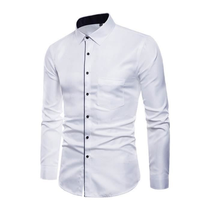 b279967922 Blanche Cher Chemise Achat Vente Homme Pas Mariage Y6yb7fg