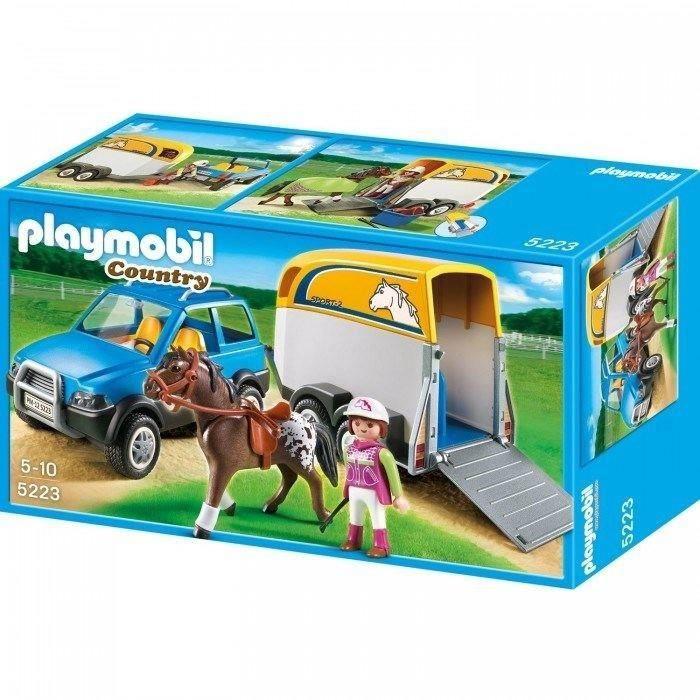playmobil chevaux achat vente jeux et jouets pas chers. Black Bedroom Furniture Sets. Home Design Ideas