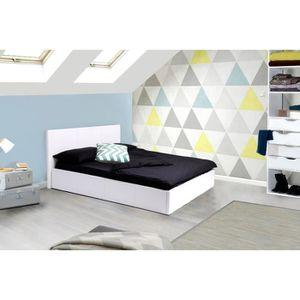 tete de lit avec rangement achat vente tete de lit avec rangement pas cher cdiscount. Black Bedroom Furniture Sets. Home Design Ideas