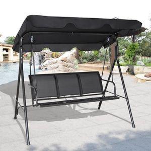 BALANCELLE Chaise longue Balancelle jardin balançoire banc ja