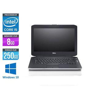 ORDINATEUR PORTABLE Pc portable Dell E5430 - i5 - 8Go - 250Go HDD - Wi