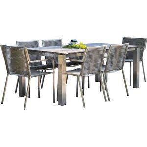 Table de jardin hpl - Achat / Vente pas cher