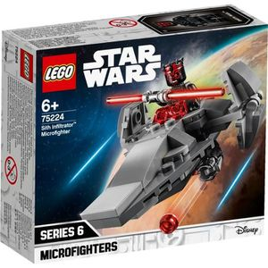 ASSEMBLAGE CONSTRUCTION LEGO Star Wars™ 75224 Microvaisseau Sith Infiltrat