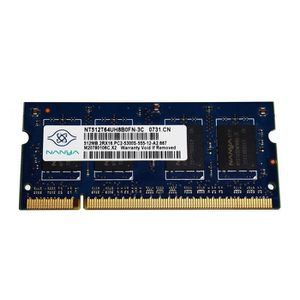 MÉMOIRE RAM Composants Nanya - SoDIMM - 512 MB -DDR2 -PC2 5300