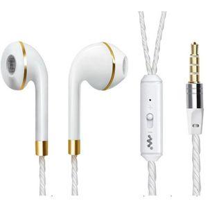CASQUE - ÉCOUTEURS Ecouteurs Anneau pour SONY Xperia E4g avec Micro R