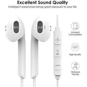 KIT BLUETOOTH TÉLÉPHONE Écouteurs Intra-Auriculaires Écouteurs Isolation A