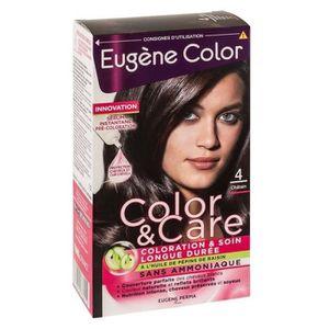 COLORATION EUGENE COLOR Kit de coloration châtain
