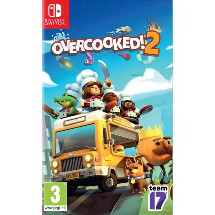 Overcooked 2 Jeu Switch
