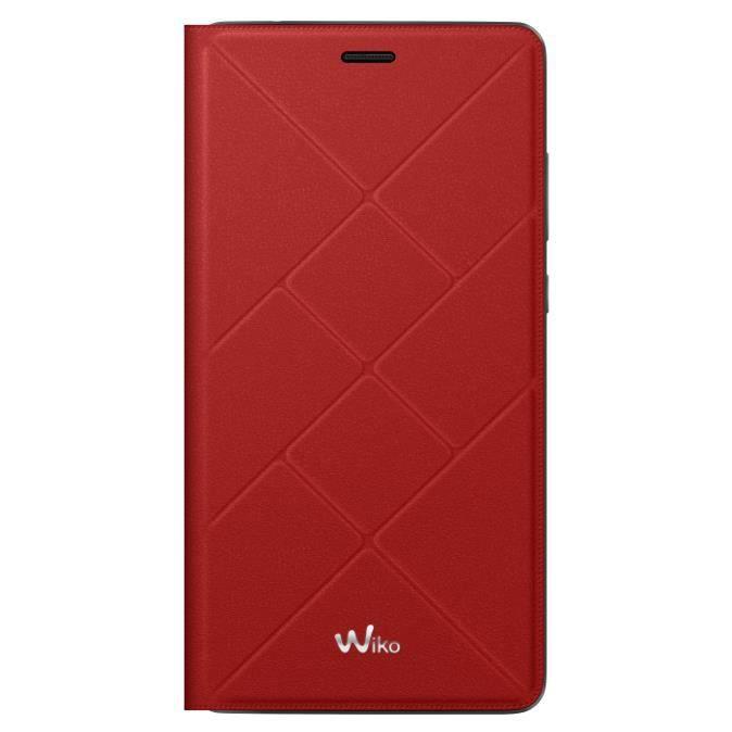 Wiko Etui Jetlines Pulp 4G Rouge