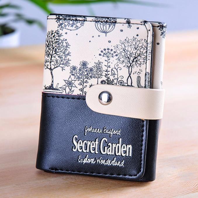 Deessesale®Mode Jardin secret portefeuille